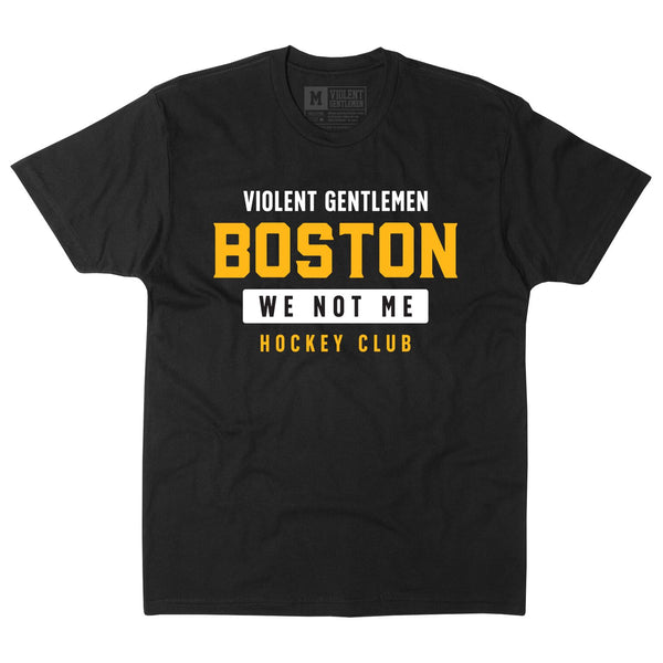 We Are Boston Tee - Black - Men's T-Shirt - Violent Gentlemen