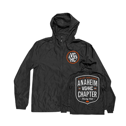 Anaheim Chapter HC Windbreaker - Black - Men's Jackets - Violent Gentlemen