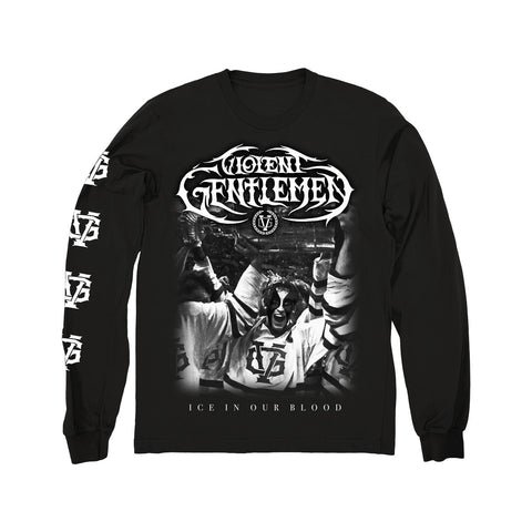 Black Tornado Long Sleeve Tee