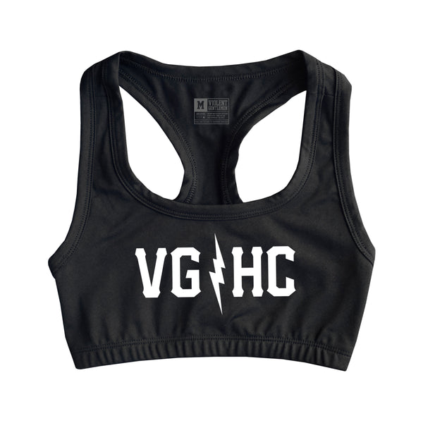 Bolts Womens Sports Bra -  - Women's Sports Bras - Violent Gentlemen
