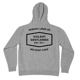 Classic Enforcer Pullover Hood -  - Men's Fleece Tops - Violent Gentlemen