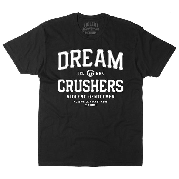 Dream Crusher Tee - Black - Men's T-Shirts - Violent Gentlemen