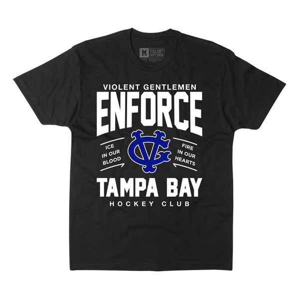 Enforce Tampa Bay Tee -  - Men's T-Shirts - Violent Gentlemen