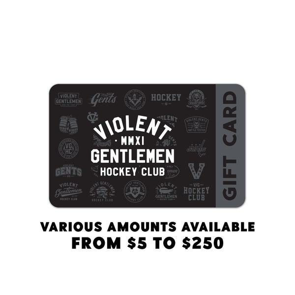 Gift Card -  - Accessories - Violent Gentlemen