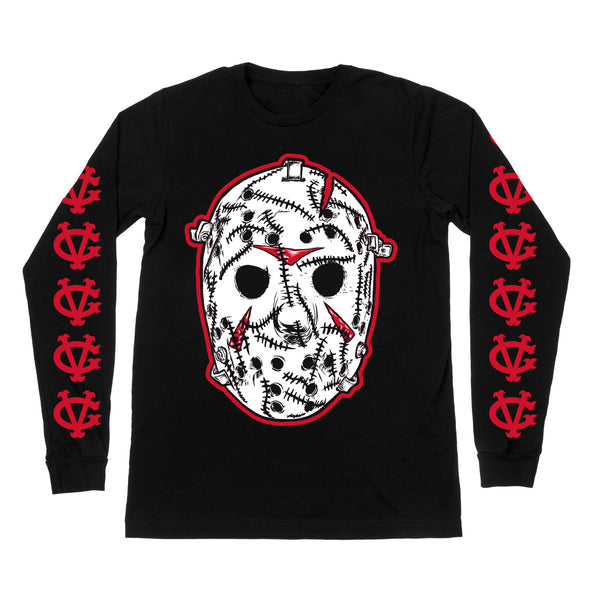 Jason Cheevers Long Sleeve Tee - Black - Men's T-Shirts - Violent Gentlemen