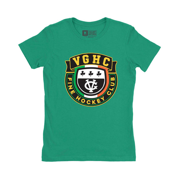 Fine Hockey Club Womens Tee -  - Women's T-Shirts - Violent Gentlemen