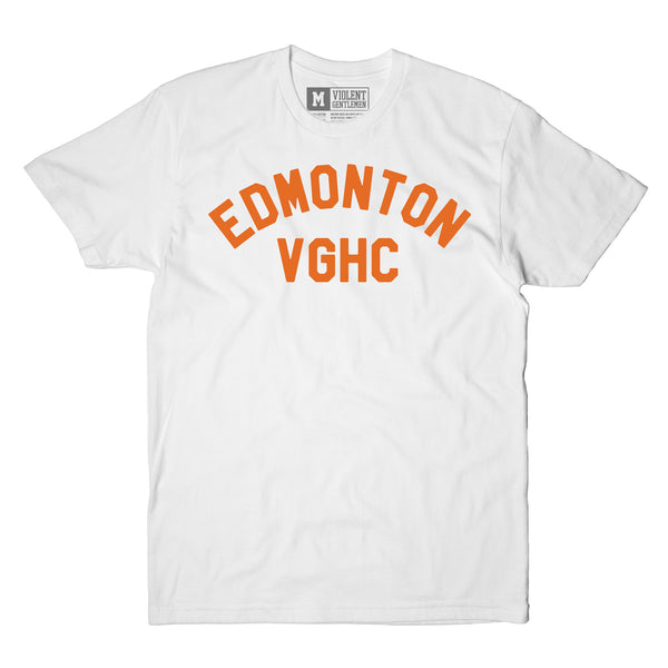 Home Team Edmonton Tee - White - Men's T-Shirts - Violent Gentlemen