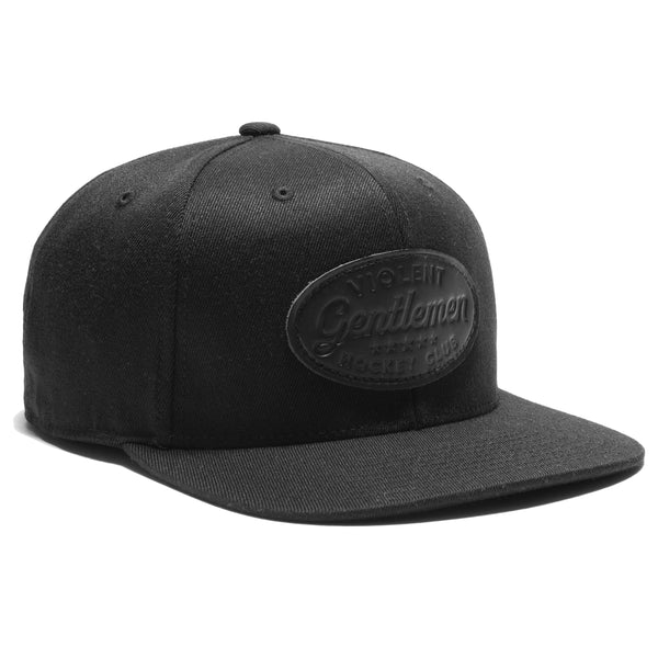 Five Star Leather Patch Snapback -  - Hats - Violent Gentlemen