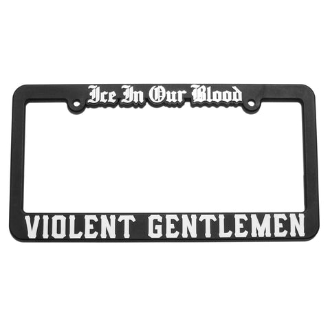 Old English License Plate Frame -  - Accessories - Violent Gentlemen