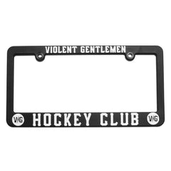 Hockey Club License Plate Frame -  - Accessories - Violent Gentlemen