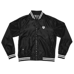 Winger Bomber Jacket - Black/White - Men's Jackets - Violent Gentlemen