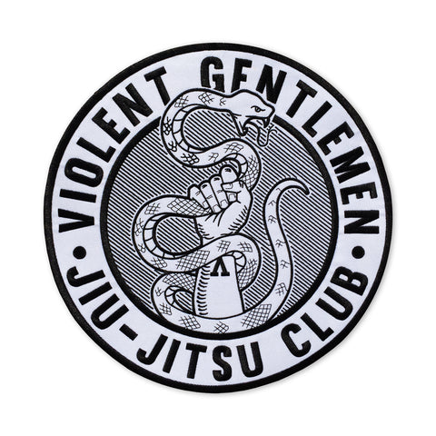 VGJJC Back Patch - White - Accessories - Violent Gentlemen