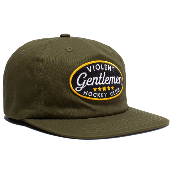 Five Star Unstructured Hat -  - Hats - Violent Gentlemen