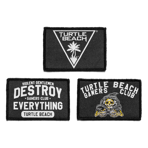 Turtle Beach Velcro Patch 3 Pack -  - Accessories - Violent Gentlemen