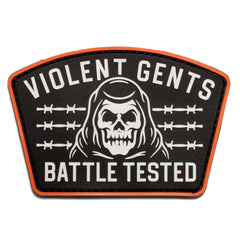 Battle Tested PVC Velcro Patch -  - Accessories - Violent Gentlemen