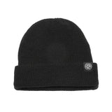 Clips Fold Beanie - Black - Beanies - Violent Gentlemen