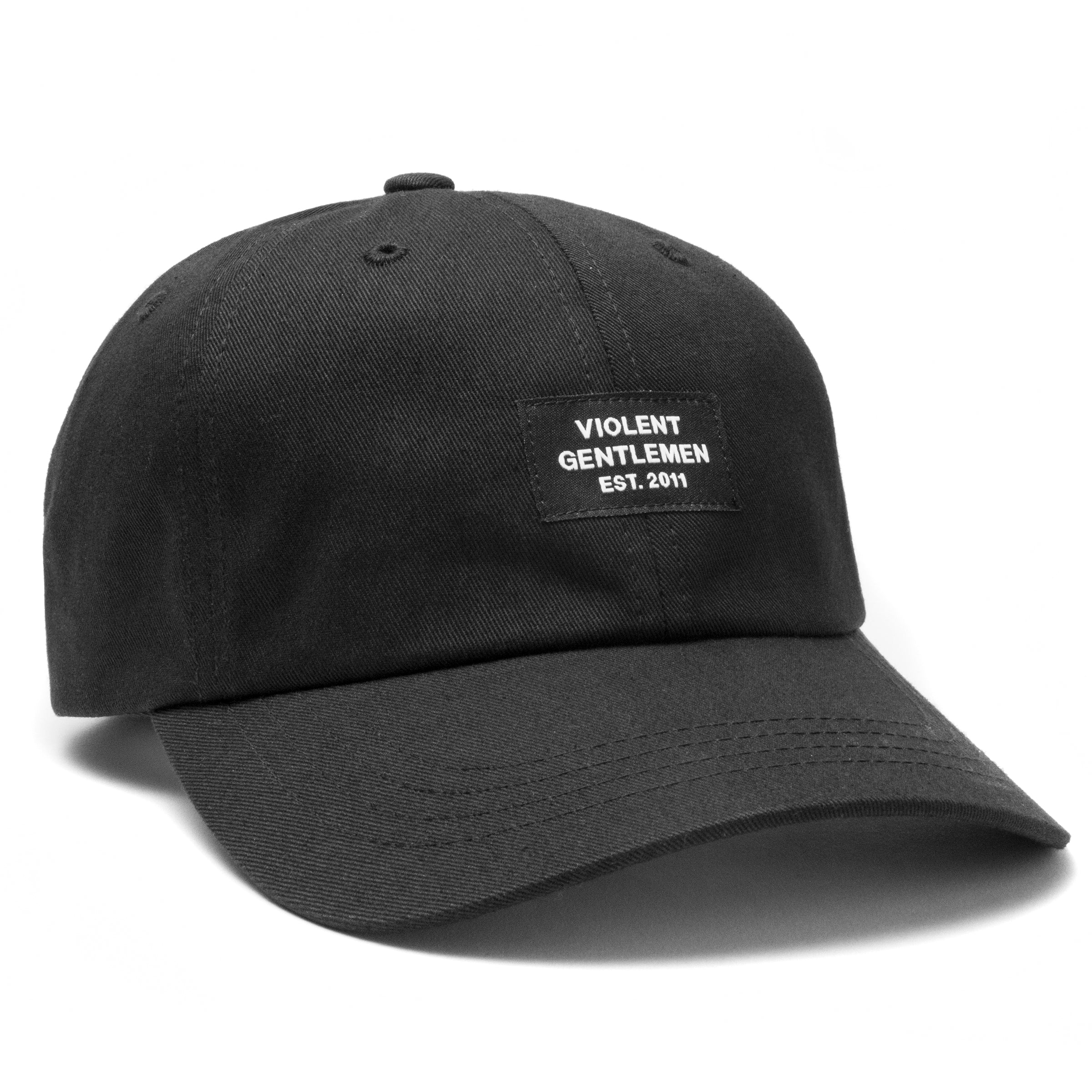 Lemieux Dad Hat - Black - Hats - Violent Gentlemen 342fec1b730