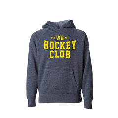 Hockey Club Kids Pullover Hood -  - Kid's Fleece Tops - Violent Gentlemen