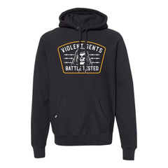 Battle Tested Cross Grain Pullover Hood -  - Men's Fleece Tops - Violent Gentlemen
