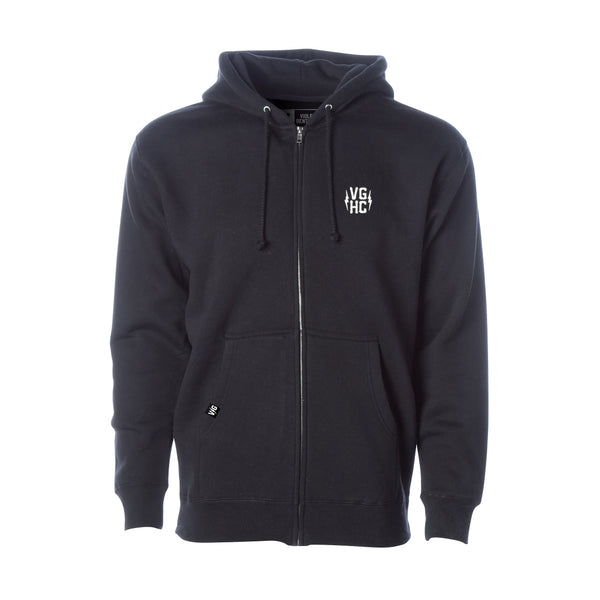 Bolts Heavyweight Zip Hood -  - Men's Fleece Tops - Violent Gentlemen