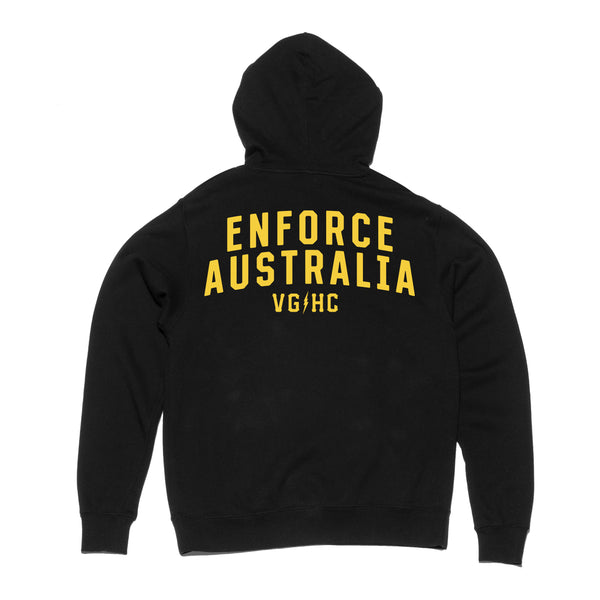 Enforce Australia Pullover Hood -  - Men's Fleece Tops - Violent Gentlemen