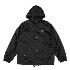 Black Label Coaches Jacket - Black - Men's Jackets - Violent Gentlemen