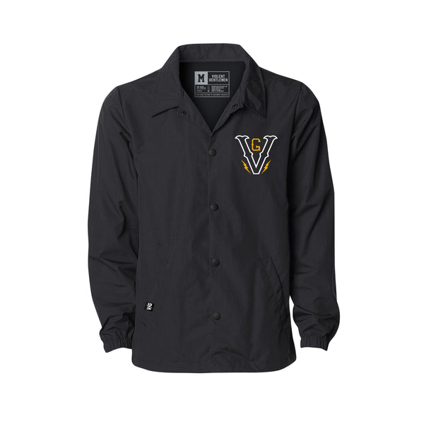 Lightning V Coaches Jacket -  - Men's Jackets - Violent Gentlemen