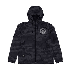 Triumph Windbreaker Jacket - Black Camo - Men's Jackets - Violent Gentlemen