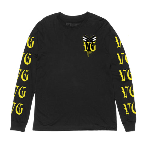 Crusher Long Sleeve Tee -  - Men's Long Sleeve T-Shirt - Violent Gentlemen