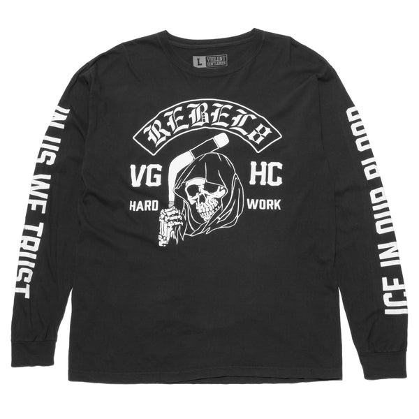 REBEL8 x VG Long Sleeve Tee -  - Men's Long Sleeve T-Shirt - Violent Gentlemen