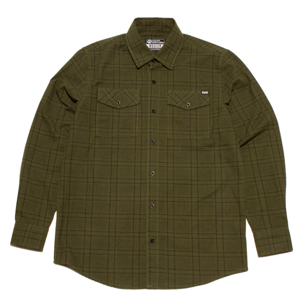 Standard Issue Flannel -  - Men's Long Sleeve T-Shirt - Violent Gentlemen