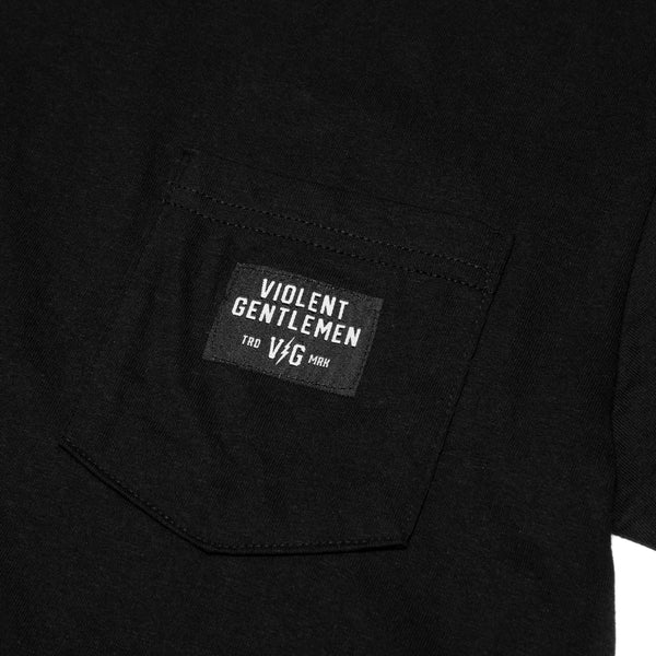 Black Label Heavyweight Pocket Tee -  - Men's T-Shirts - Violent Gentlemen