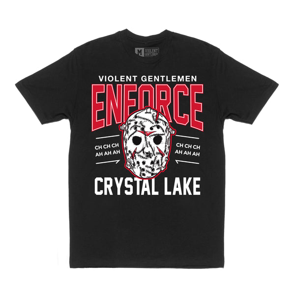 Enforce Crystal Lake Tee -  - Men's T-Shirts - Violent Gentlemen