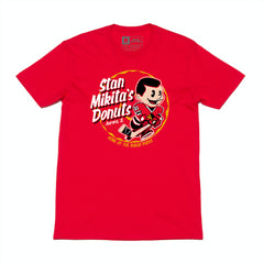 Stan Mikita 2.0 Tee - Red - Men's T-Shirts - Violent Gentlemen