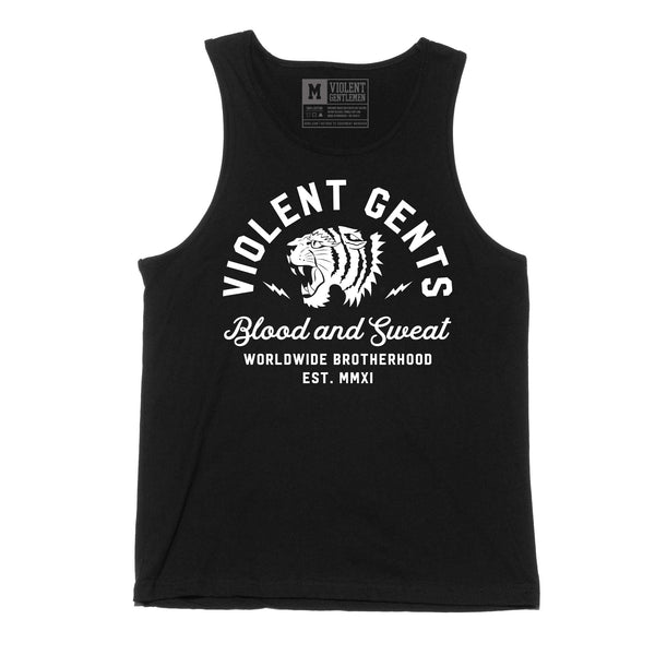 Tiger Tank Top -  - Men's Tank Tops - Violent Gentlemen