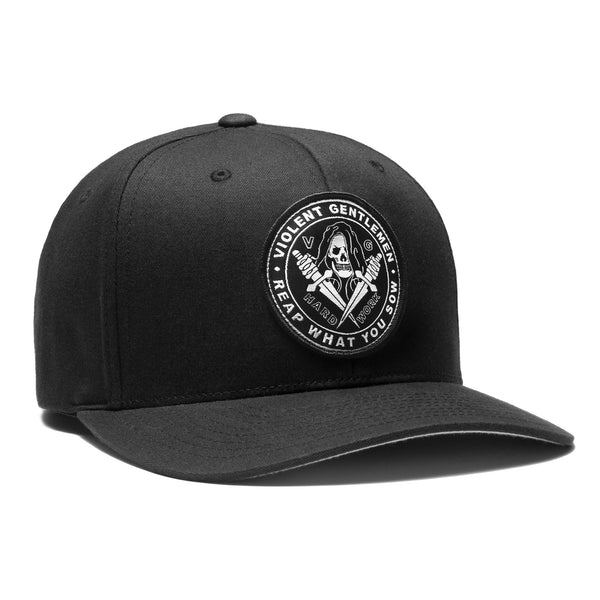 Reaper Flexfit - Black - Hats - Violent Gentlemen
