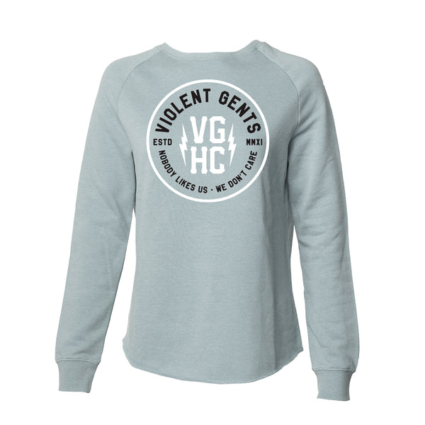Establish Womens Crew Neck -  - Women's Fleece Tops - Violent Gentlemen