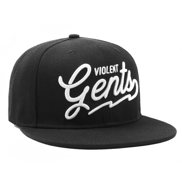 The Wes Snapback - Black - Hats - Violent Gentlemen