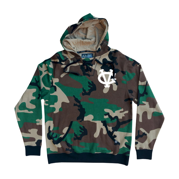 Winger Enforcer Pullover Hood - Camo - Men's Fleece Tops - Violent Gentlemen