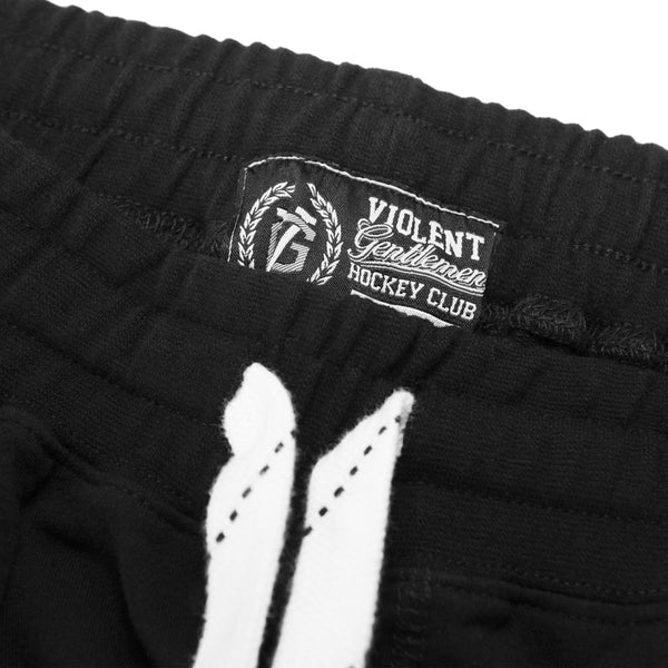 Jagr Pants - Black - Men's Fleece Bottoms - Violent Gentlemen