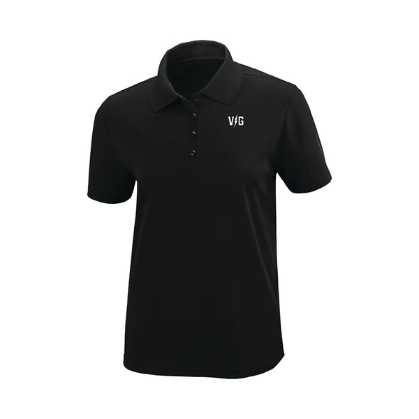 Womens Bolts Polo - Black - Women's T-Shirts - Violent Gentlemen