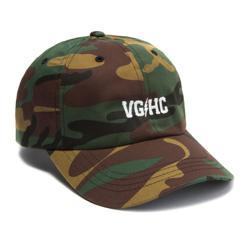 Bolts Dad Hat - Camo - Hats - Violent Gentlemen