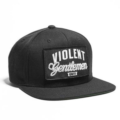 Unite Snapback - Black - Hats - Violent Gentlemen