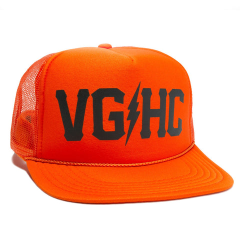 Weekend Trucker - Orange - Hats - Violent Gentlemen
