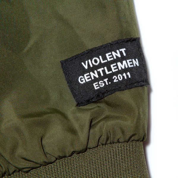 Winger Bomber Jacket - Army - Men's Jackets - Violent Gentlemen
