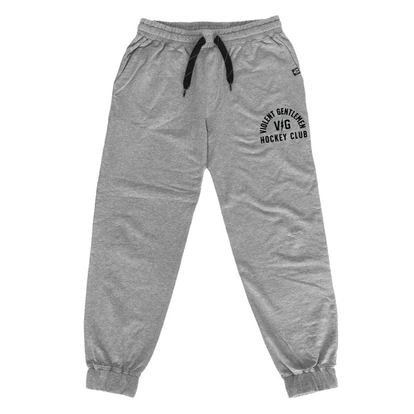 Hell Week Jagr Pants - Gunmetal - Men's Fleece Pants - Violent Gentlemen