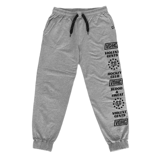 Game Time Jagr Pants - Gunmetal - Men's Fleece Pants - Violent Gentlemen