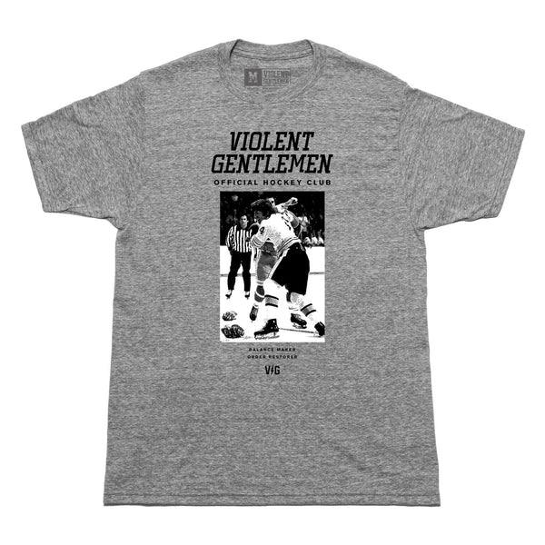 Restore Tee - Heather Grey - Men's T-Shirts - Violent Gentlemen
