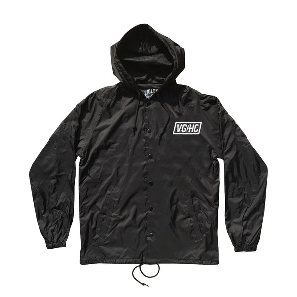 Blood & Sweat Coaches Jacket - Black - Men's Jackets - Violent Gentlemen