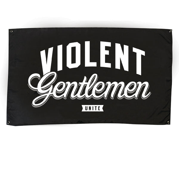Unite Flag - Black - Accessories - Violent Gentlemen